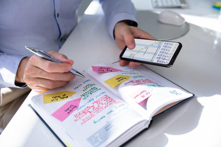 Digitalisierung von gedruckten Kalendern