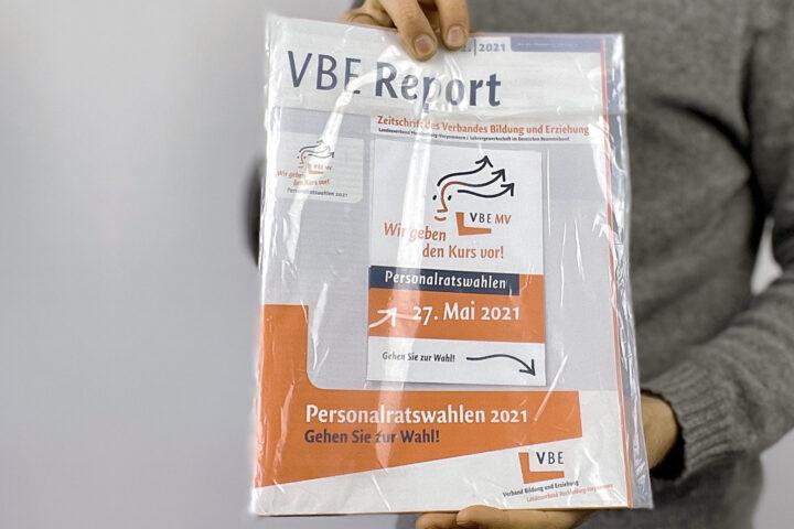VBE Report im kompostierbaren Folienbeutel
