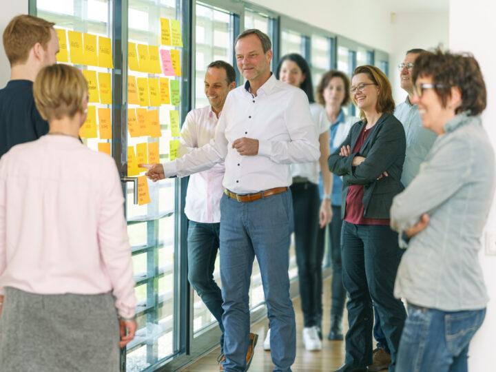Gruppenfoto Team Wilke Seminar an Festerfront