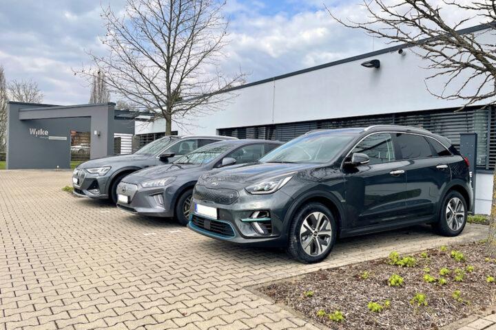 e-Auto-Flotte wächst