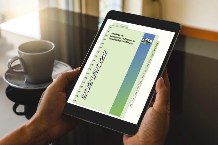 Digitaler Lehrerkalender des vlbs/vLw